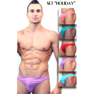 "Set thongs ""HOLIDAY"""